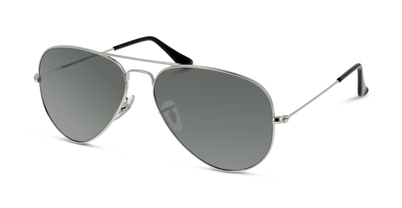 Lunettes de soleil Ray Ban RB 3025 AVIATOR METAL W3277 ARGENT ... 1b395ad5a364