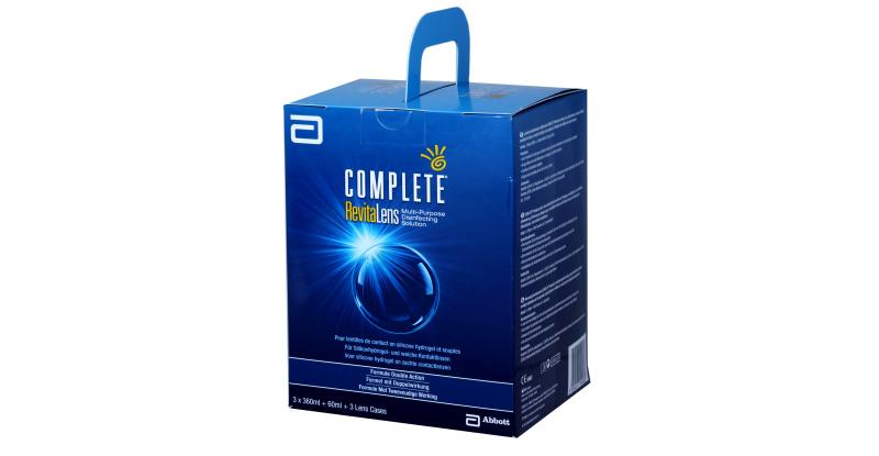 Produit Lentille COMPLETE Complete Revitalens - Pack 3X360 Ml  1X60Ml