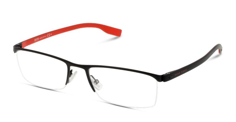 7e1560f8104443 Optique Hugo Boss BOSS 0610 FQA BLACK RED   GrandOptical