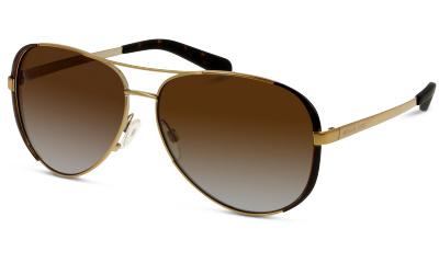 Lunettes de soleil Michael Kors 5004 1014T5 GOLD/DK CHOCOLATE BROWN