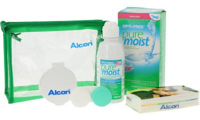 Produit Lentille Flight Pack OPTI-FREE PUREMOIST Opti-free Puremoist - Travel Kit 90 ml