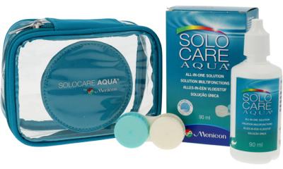Produit Lentille Flight Pack SOLO-CARE SOLOCARE AQUA - TRAVEL KIT