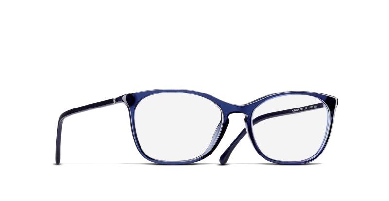 79702215b433b Lunettes de vue Chanel 0CH3281 C503 BLUE