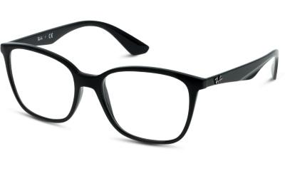 Lunettes de vue RAY-BAN 0RX7066 2000 SHINY BLACK