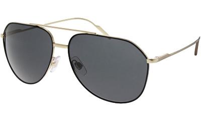 Lunettes de soleil Dolce & Gabbana DG2166 130587 BLACK/PALE GOLD