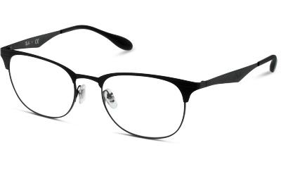 Lunettes de vue Ray-Ban 6346 2904 BLACK/MATTE BLACK