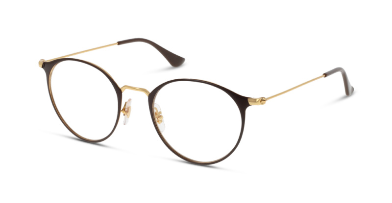 Optique Ray Ban 6378 2905 GOLD SHINY BROWN   GrandOptical bc1dfff681ae