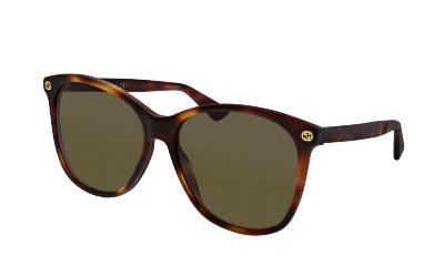 Lunettes de soleil Gucci GG0024S 002 AVANA-AVANA-BROWN
