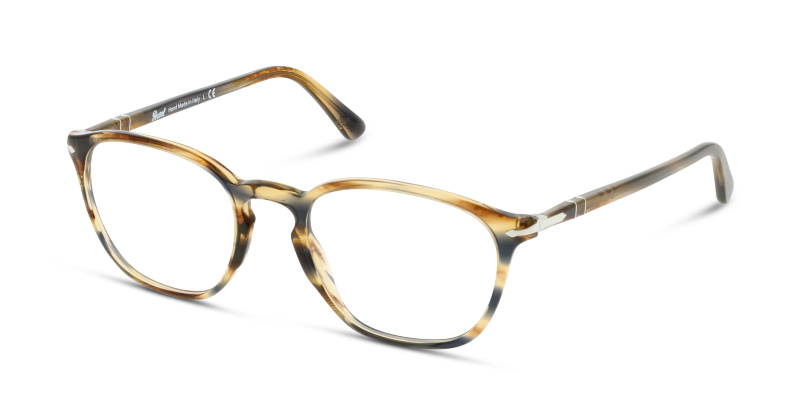 Optique Persol 3178V 1049 STRIPED BROWN GREY   GrandOptical 4f2ba4ffe619