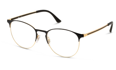Lunettes de vue Ray-Ban 6375 2890 GOLD TOP IN BLACK