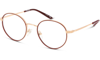 Lunettes de vue Paul & Joe ROSY 21 BXOR OR ROSE BRILLANT/BORDEAUX