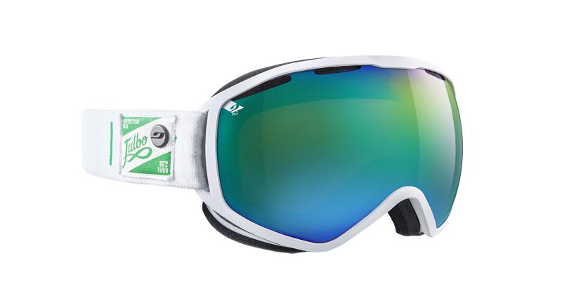 Masque de ski Julbo ATLAS 11 blanc   vert   GrandOptical 015dbeaa95e4