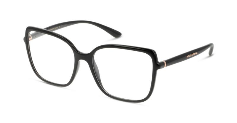 4a7d26a1a0 Lunettes de vue Dolce & Gabbana 5028 501 BLACK | GrandOptical