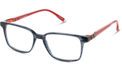 2ff7bbe73a344 Lunettes de vue New York Yankees NYAM026 C67 NAVY BLUE RED