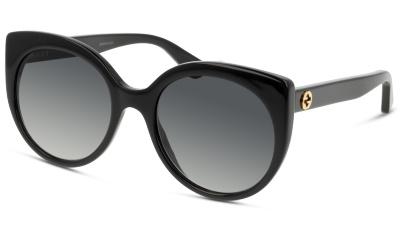 a24e27e59ad Lunettes de soleil Gucci GG0325S 001 BLACK-BLACK-GREY