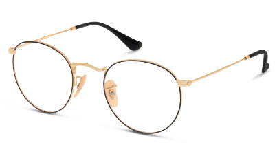 Lunettes de vue Ray-Ban 3447V 2991 GOLD ON TOP BLACK