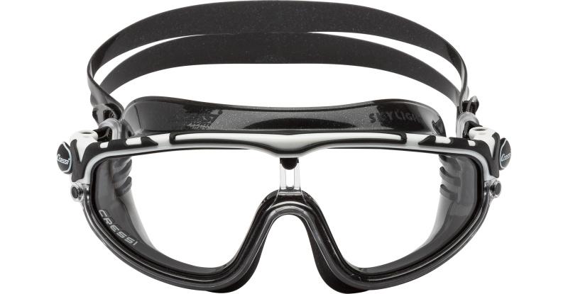 Masque de natation CRESSI SKYLIGHT NOIR/BLANC/NOIR