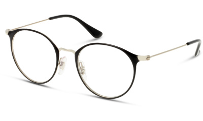 Lunettes de vue Ray-Ban 0RY1053 4064 SILVER ON TOP BLACK
