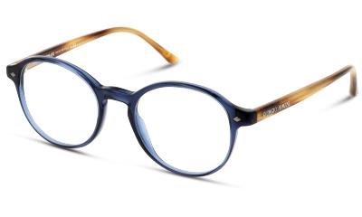 Lunettes de vue Giorgio Armani 0AR7004 5358 TRANSPARENT BLUE