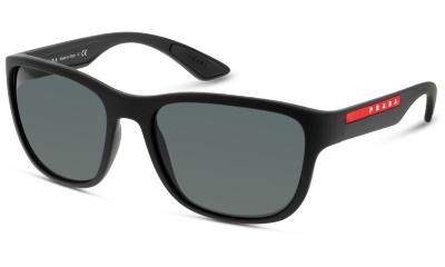 Solaire Prada Linea Rossa 01US DG05S0 BLACK RUBBER