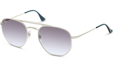 Lunettes de soleil RAY-BAN 3609 91420S DEMI GLOSS SILVER