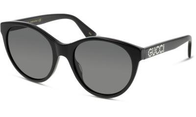 Lunettes de soleil Gucci GG0419S 001 BLACK-BLACK-GREY