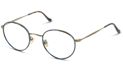 Lunettes de vue Giorgio Armani AR5083J 3247 BLUE AVANA/MATTE BRUSHED GOLD