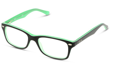 51446805f31 Lunettes de vue Ray Ban 1531 3764 GREEN TRASPARENT ON TOP B