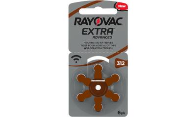 Audio RAYOVAC PILE AUDITIVE 312 RAYOVAC EXTRA (x6)