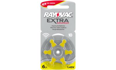 Audio RAYOVAC PILE AUDITIVE ZA 10 RAYOVAC EXTRA (x6)
