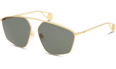 Lunettes de soleil Gucci GG0437SA 002 GOLD-GREY