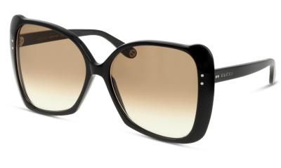 Lunettes de soleil Gucci GG0471S 001 BLACK-BROWN