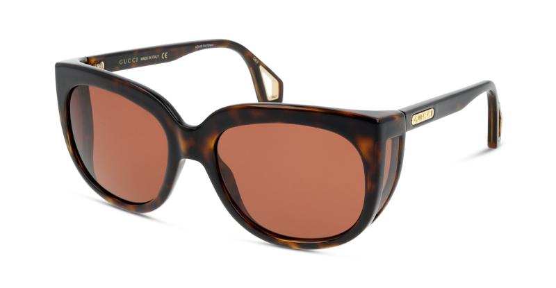 Lunettes de soleil Gucci GG0468S 002 HAVANA-BROWN