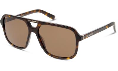 Lunettes de soleil Dolce & Gabbana DG4354 502/73 HAVANA