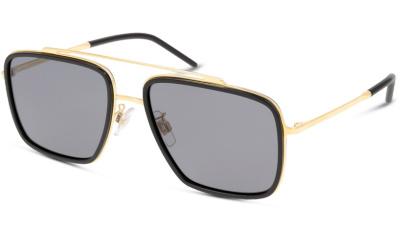 Lunettes de soleil Dolce & Gabbana DG2220 29618 GOLD/BLACK