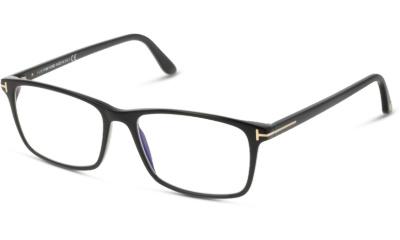 Lunettes de vue Tom Ford FT5584-B 001 SHINY BLACK