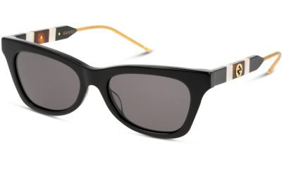 Lunettes de soleil Gucci GG0598S 001 BLACK GREY
