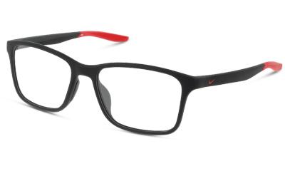 Lunettes de vue Nike NIKE7117 006 MATTE BLACK/GYM RED