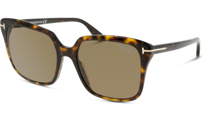 Lunettes de soleil Tom Ford FT0788 52H dark havana / brown polarized