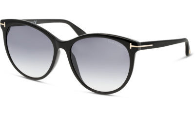 Lunettes de soleil Tom Ford FT0787 01B shiny black / gradient smoke