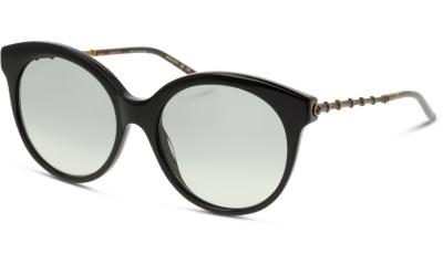 Lunettes de soleil Gucci GG0653S 001 BLACK/GOLD