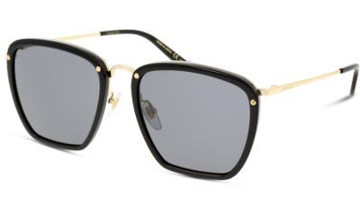 Lunettes de soleil Gucci GG0673S 001 BLACK/GOLD