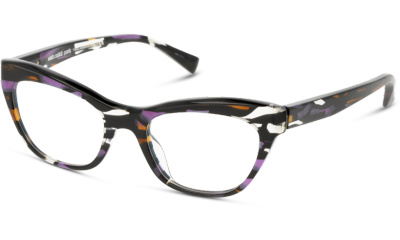 Lunettes de vue Alain Mikli A03104 5 PURPLE STAINED GLASS/NOIR MIKL/HAVANA PURPLE