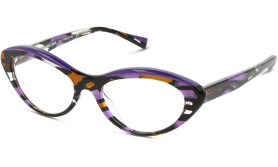 Lunettes de vue Alain Mikli A03106 5 PURPLE STAINED GLASS/VIOLET/HAVANA PURPLE