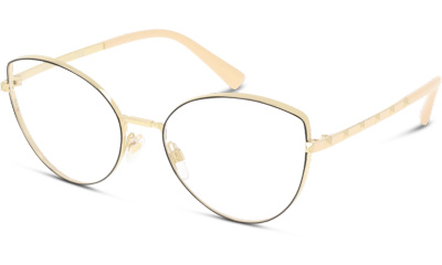 Lunettes de vue Valentino VA1018 3003 LIGHT GOLD/BLACK