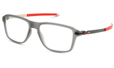 Lunettes de vue Oakley OX8166 816603 SATIN GREY/BLACK RED