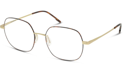 Lunettes de vue MOLESKINE EYEWEAR MO2118 29 DORE BRILLANT & ECAILLE HAVANE