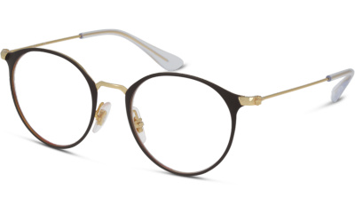 Lunettes de vue RAY-BAN RY1053 4078 GOLD ON TOP MATTE BROWN
