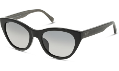 Lunettes de soleil Maui Jim 820 Capri 02N Black Trans dark gre #Grey