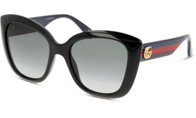 Lunettes de soleil Gucci GG0860S 002 BLACK BLUE GREY
